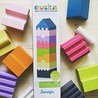 Деревянная пирамидка ТМ Cubika – новое слово в развивающих игрушках для детей