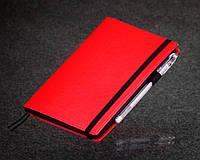 Блокнот с черной бумагой Красный стандарт