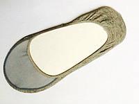 Бамбуковые следочки - носочки Серые