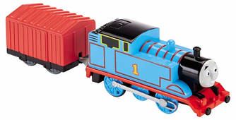Fisher-Price Thomas & Friends TrackMaster Thomas Motorized Engine (Томас и друзья Паровозик Томас с вагоном)