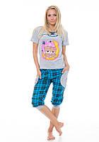 Женская пижама с бриджами Baray
