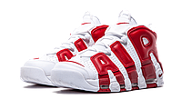 Кроссовки Nike Air More Uptempo Red White Scottie Pippen