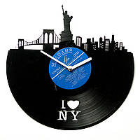Часы настенные I Love NY