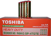 Батарейки солевые Toshiba heavi duti R-3
