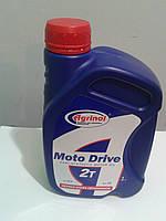Полусинтетическое масло Агринол Moto Drive 2T 1л
