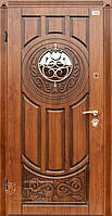 Двери уличные со стеклопакетом Luck-window А-179