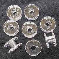 Шпульки для бытовых швейных машин, пластиковые, 50 шт