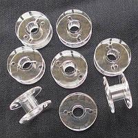 Шпульки для промышленных швейных машин, пластиковые, 50 шт