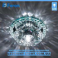 Врезной точечный светодиодный  светильник Feron JD125  COB LED 10W