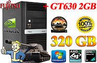 АКЦИЯ!!! ПК ZEVS PC1500M 320GB Win7 + GT630 2GB!