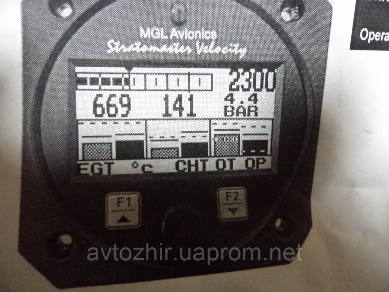 Прибор контроля работы двигателя rotax912