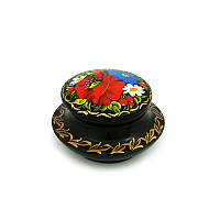 Шкатулка с ручной росписью Царский Луг