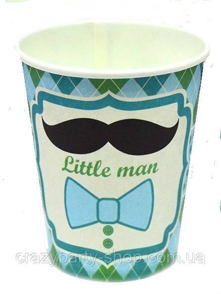 Стакан Little Man  Маленький джентельмен