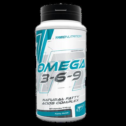Omega 3-6-9 Trec Nutrition 60 caps, фото 2