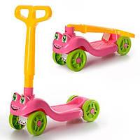 Самокат детский ТехноК розовый MTH-3657
