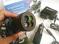 Налобный фонарь Bailong BL-6804 код 6804