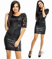 Женское короткое платье мини