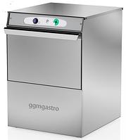 Машина посудомийна (стаканомоечная) GGM Gastro GLS210M, з помпою для зливу, фото 1