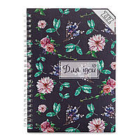 Sketchbook Сад для идей Скетчбук 100г цветы для ідей