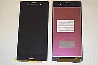 Дисплей (модуль) + тачскрин (сенсор) для Sony Xperia Z3 D6603 D6616 D6633 D6643 D6653 L55t L55u (черный цвет)
