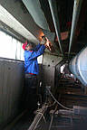 Демонтаж старой системы отопления