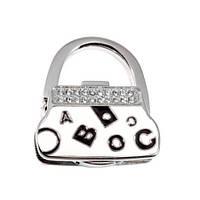 Вешалка для сумки Клатч Белый Алфавит
