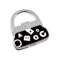 Вешалка для сумки Клатч Черный Алфавит