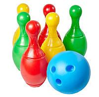 Набор для игры в боулинг (шар и 6 кеглей) + (Арт.MTH-BOULING)