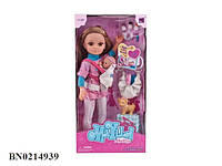 Кукла - мама с ребенком и аксессуарами 88122