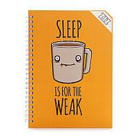 Sketchbook Сон для слабаков Скетчбук 100г блокнот no sleep