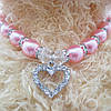 """Ожерелье """"Сердечко"""" для собаки, кошки. Украшения для животных., фото 3"""