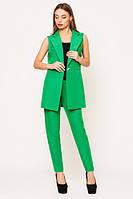 Стильный женский зеленый костюм Зарина   Leo Pride  44-48 размеры
