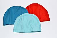 Шапочка для плавания комбинированная  Снаружи — силиконовое покрытие, внутри  — тканевое покрытие