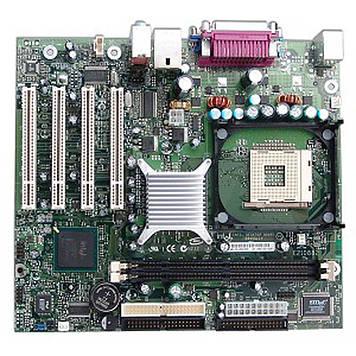 Материнская плата Intel D845GLVA, s478, б\у