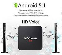 Смарт ТВ приставка MXQ PRO S905 Android 5.1 (TV-приставка на Андроид, медиаплеер)