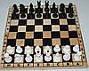 Шахматы деревянные, бук, 172054