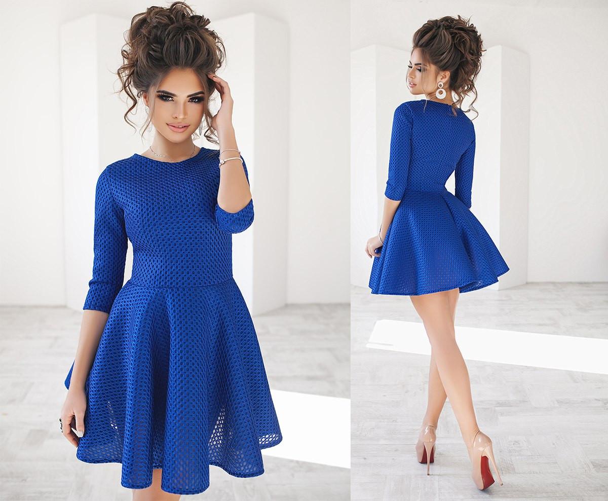Платье сетка из неопрена