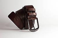 Мужской классический под джинсы ремень 35 (мм) Labbro Grande Pelle 311512800 шоколад