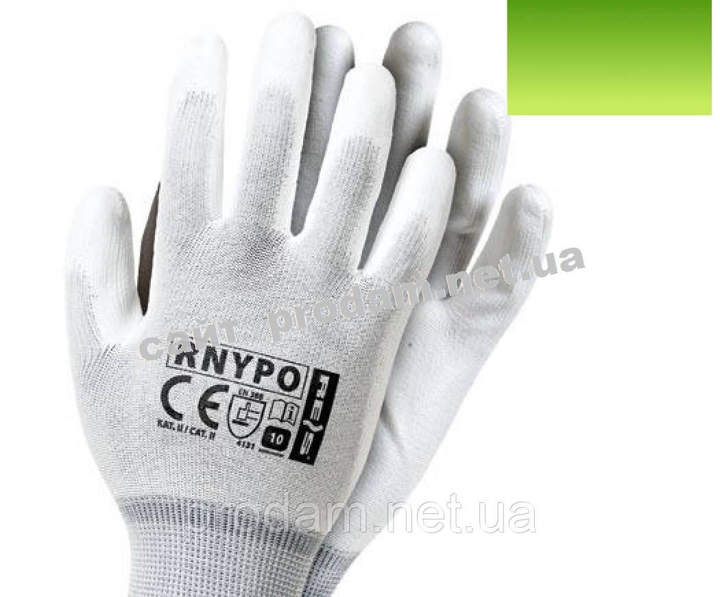 Перчатки защитные полиуретановая