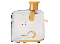 Электрическая соковыжималка для дома CRYSTAL CR-307, мощность 300Вт, ёмкость на 1л сока