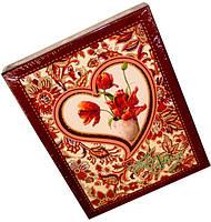 """Фотоальбом в коробке """"Цветы в сердце""""(10х15) 72-29201, фото 1"""