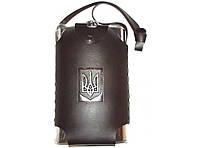 Фляга в сумке 2л F1-24, фляга с гербом, фляга для алкогольных напитков