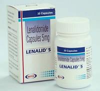 Леналид (Lenalid) леналидомид 5 мг, №30 (дженерик Revlimid)