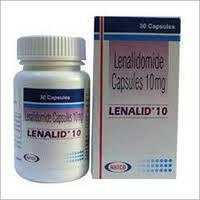 Леналид (Lenalid) леналидомид 10 мг, №30 (дженерик Revlimid)