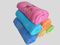 Махровое банное полотенце 140х70см (нарцисс)