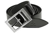 Кожаный мужской ремень Ricco Grande Pelle 330203141 чёрный 3,5 см.