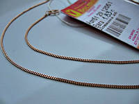 Золотая цепочка 1.83 грамма 45 см Золото 585 пробы