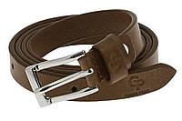 Женский кожаный ремень (2 см) Wave Grande Pelle 211300400 шоколад