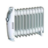 Радиатор масляный электрический A-Plus 1987, 1200 Вт, 10 секций, механика, напольный, ручка, 5,6 кг