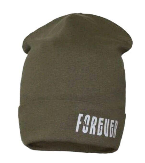 Детская шапка  с подворотом David Star  54-56
